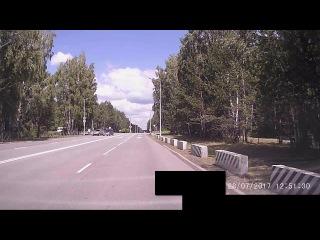 Разборки на дороге...Интелегенция... Снежинск 28 июля 2017