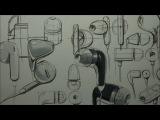Earphones Sketch &amp Design