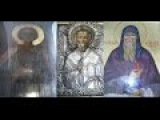Мироточение Трех икон в Введенском Тихвинском женском монастыре 24.02.2017