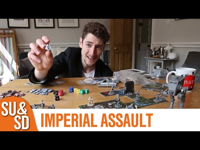 Star Wars Imperial Assault - Shut Up Sit Down Review