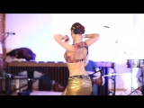 Tribal Fusion Tabla solo. Svetlana and Alexey Bulash. 2844