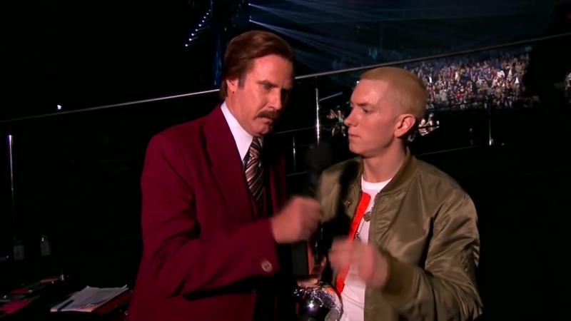 Eminem vs Afrojack WHO! (MTV EMA 2013)