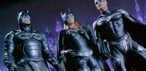 Бэтмен, Бэтгёрл и Робин