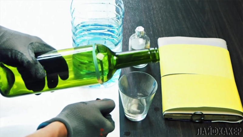 Как безопасно разрезать винную бутылку дома - Лайфхакер