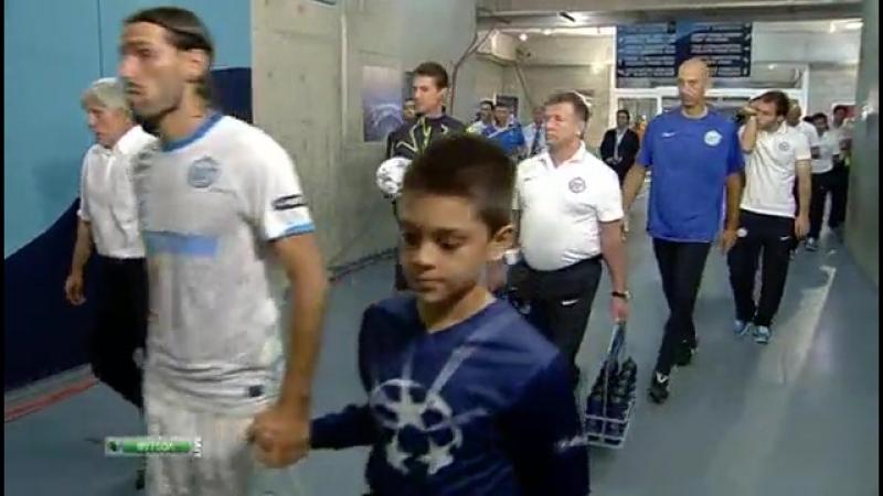 Лига Чемпионов 2011 12 Группа G 1 тур АПОЭЛ Зенит 2 тайм 13 09 2011