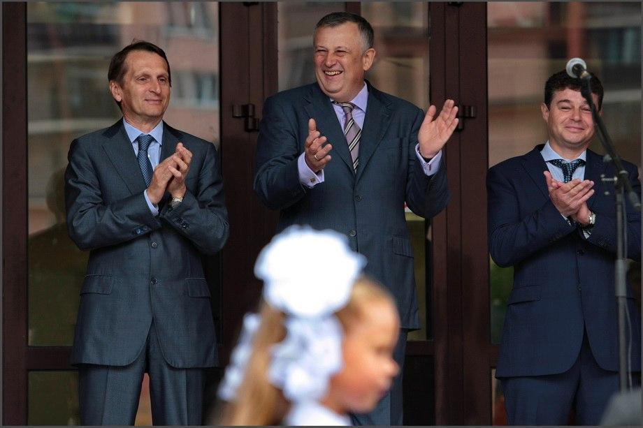 Нарышкин иДрозденко открыли вЛенобласти школу-технопарк