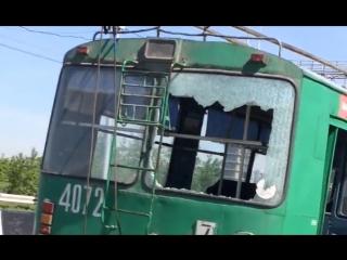 Последствия скачка напряжения в троллейбусе №7