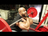 Exercise demo FRONT SQUATS! - Training