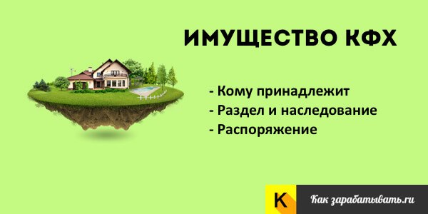 #Имущество крестьянского фермерского #хозяйства (#КФХ) http://kakzar
