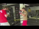 тест перчаток FLAMMA PRO профессиональным боксером