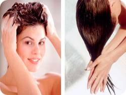 сделать волосы жесткими