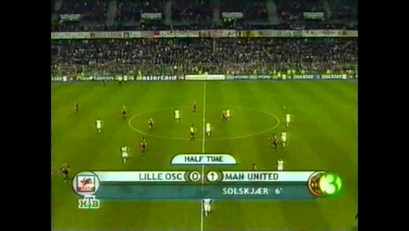 162 CL-2001/2002 Lille OSC - Manchester United 1:1 (31.10.2001) HL