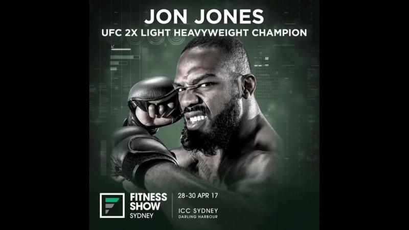 Джон Джонс на Fintess Show 29-30 апреля