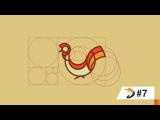Adobe Illustrator Tutorial   Rooster Logo Design with Golden Ratio