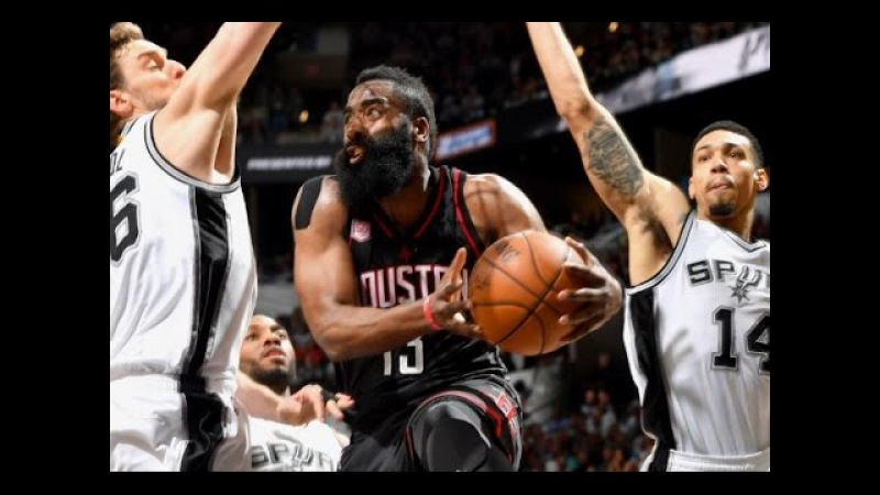 Harden's 20 Points and 14 Assists Lead Rockets to Big Win in Game 1   May 1, 2017