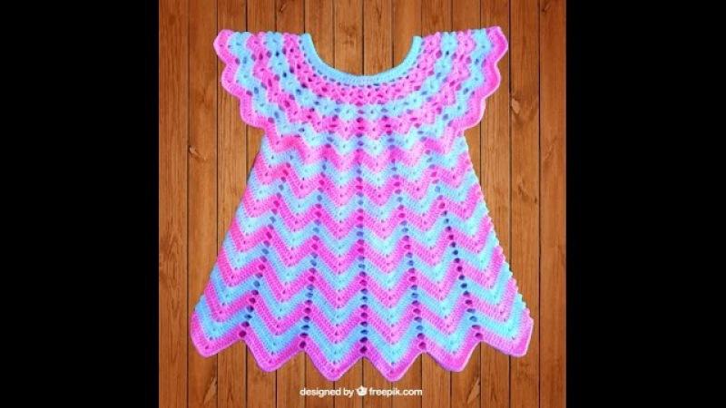 Дополнение. Как вязать юбку платюшка не сильно широким.