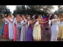 Танец с платочками на Фестивале Женской красоты в Здравом
