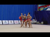 Сборная команда ГУ Омской обл. - 3 мяча и 2 скакалки