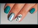Голографическая втирка для ногтей. Как закрепить Дизайн ногтей Призма, Мираж. З ...