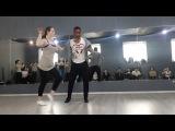 JJ Pachanga. Salsa on2 partnerwork