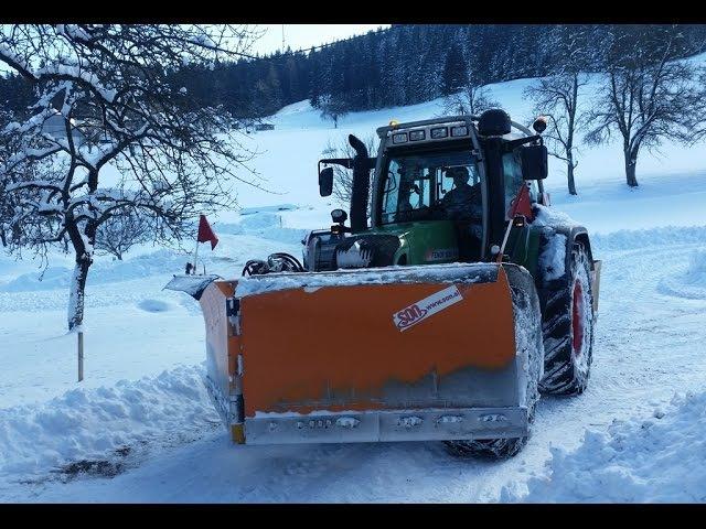 FENDT 820 vario. Plug SON - Vinica , komunalna oprema, Schneepflug,winterdienst, winter, snowplowing