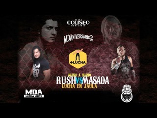 Rush vs. Masada Steel Cage Match