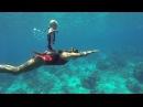 Youngest freediver in world plunges 32 feet underwater