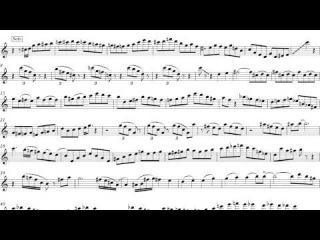 After You've Gone - Eddie Daniels Solo Transcription (Sheet music)