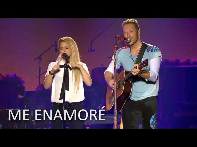 Shakira y Coldplay Me Enamoré FULL en VIVO Global Citizen Alemania HD