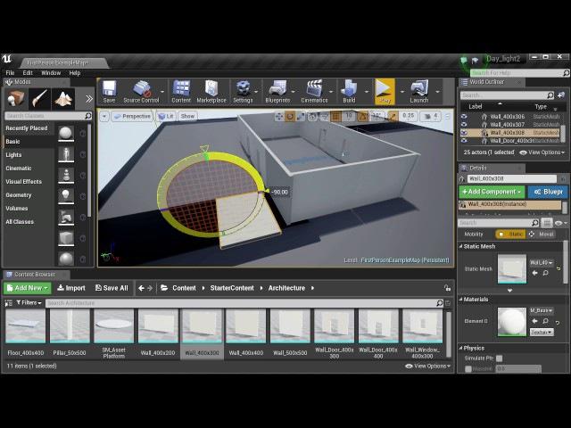 Unreal Engine - Видео № 4