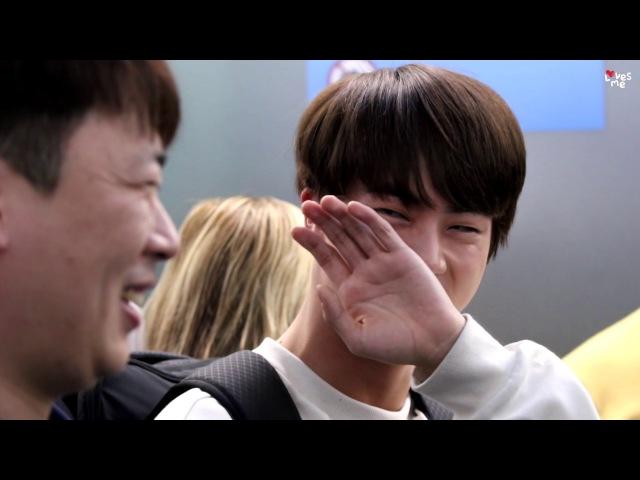 161120 방탄소년단 진 정글의법칙 촬영 인천공항 출국