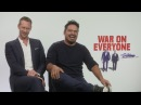War On Everyone: Alexander Skarsgard and Michael Pena talk bromance, relationships and ABBA