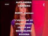 Carmen par Magdalena Kozena, dirig