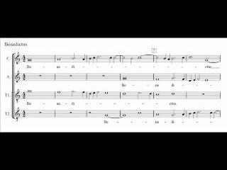 Palestrina - Missa Papae Marcelli - IV. Sanctus-Benedictus (score)