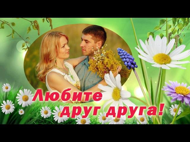Любите друг друга Очень красивые песни о любви и верности