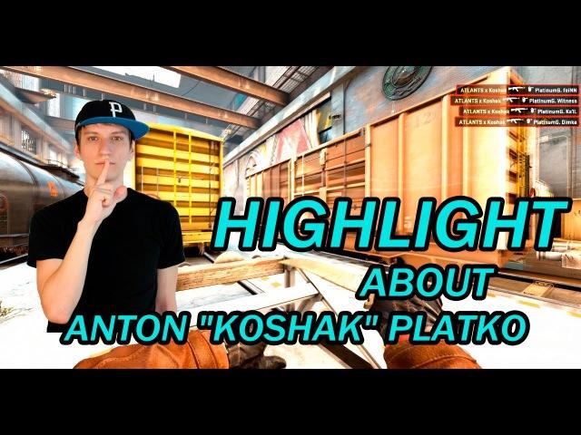 [Pqqip Production] Anton Koshak Platko quadro kill on de_train