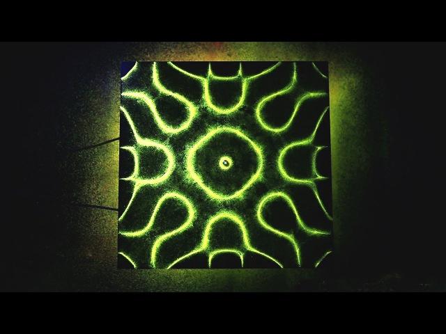 Incredible UV Sand Resonance Experiment!