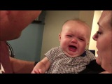 Baby Ella is jealous of kissing!