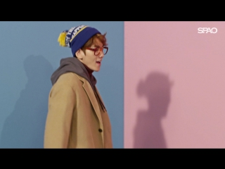 """[COMMERCIAL] 161104 EXO @ 2016FW SPAO ALL RIGHT """"COAT"""""""