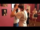 Шибари-сессия от Кирилла Мёда на открытии выставки Связанные эмоции