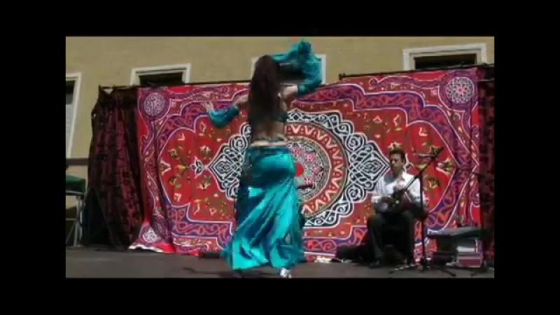 Artemis Part 2 with arabic live music bellydance on Merhaba-Shop summerparty Ju 10