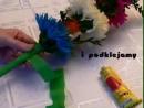 4-4_Palma_Wielkanocna_-_kwiaty_z_bibuł'y_-_instruktażј