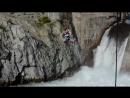 Прыжок с тарзанки на Чемальской ГЭС