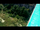 Стрибок з найвищого мосту України (міст Стрімка Лань, Камянець-Подільський)