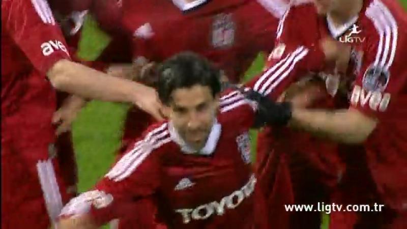 2012 - 2013 Sezonu - Beşiktaş-Kasımpaşa dakika 13 gol Olcay Şahan