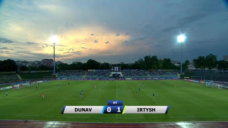 75 EL-2017/2018 FC Dunav Ruse - Irtysh Pavlodar 0:2 (06.07.2017) FULL