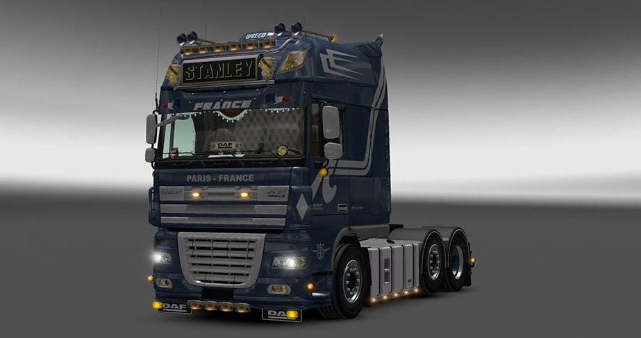 DAF XF 105 by Stanley 1.3 – Update + templates