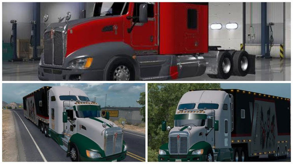 Грузовик ATS Tractocamion Kenworth T660 (for ats v1.4)