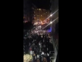 Mass protest in Istanbul's Kad