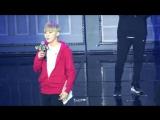 FANCAM 170212 Seventeen (Seungkwan) @ 1st Fanmeeting 'Seventeen In Carat Land' D-3